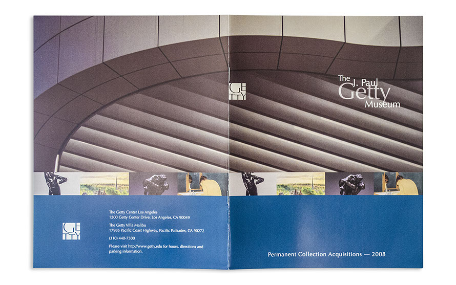Getty museum new acquisition brochure getty museum new acquisition catalog publicscrutiny Images